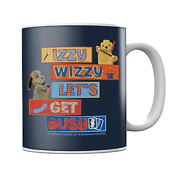 Sooty Sweep Izzy Wizzy Lets Get Busy Becher