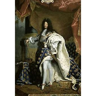 Louis XIV King of France Poster Print by  Hyacinthe Rigaud