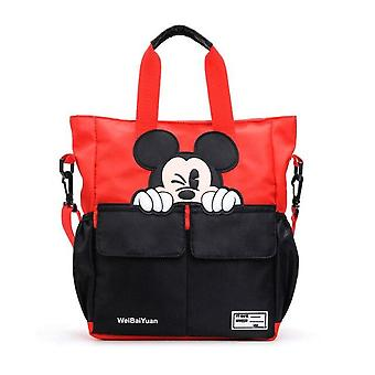 Disney Mickey Mouse School Bag - Torba Canvas's Messenger Torba na ramię