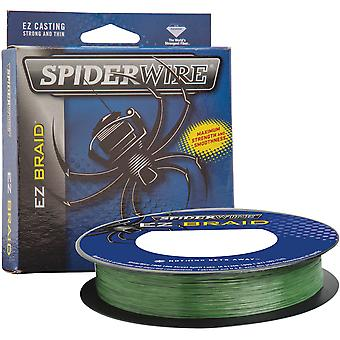 SpiderWire EZ Braid 110 jaardin siima - 10 lb. Testi - Moss Green
