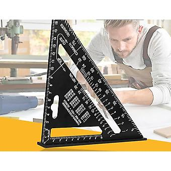 Triangle Ruler Angle Protractor-speed Metric Square Measuring Ruler