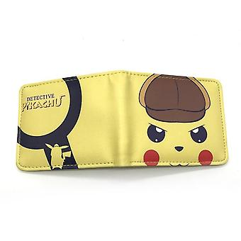 PU leather Coin Purse Cartoon anime wallet - pikachu #279