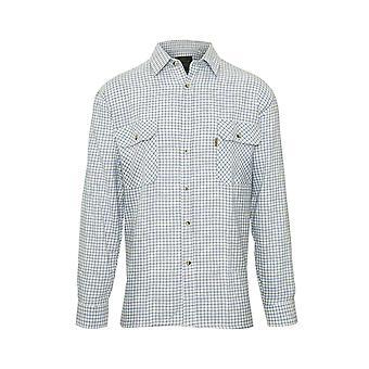 Walker and Hawkes - Mens Long Sleeved 100% Cotton Check Shirt