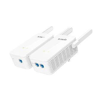 Tenda Ph15 1000m Gigabit Wireless Wifi Powerline Adapter Extender Kit Netværk