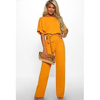 Naisten Haalarit Jumpsuits Streetwear Plus Size Romper Pitsi-up Lyhythihainen