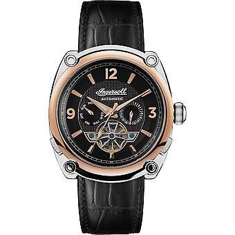 Ingersoll I01102B La montre-bracelet à cadran noir automatique du Michigan