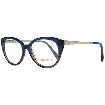Emilio Pucci Blå Kvinder optiske rammer