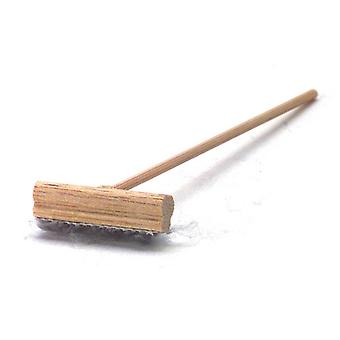 Dolls House Miniature 1:12 Scale Accessory Push Broom Brush 004
