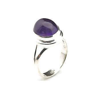 Ametist ring 925 silver Sterling Silver kvinnors ring lila (MRI 19-01)