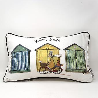Sam Toft Visiting Friends Feather Filled Cushion
