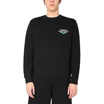 Givenchy Bmj09v30af001 Men's Black Cotton Sweatshirt