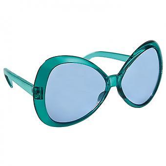Feestbril Blauw Dames 16.5X4