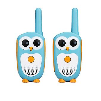 2pcs Cartoon Owl Design's Radio 0.5w Xmas Walkie-talkies
