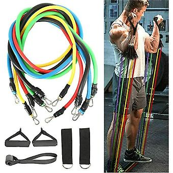Resistance Bands Workout, Exercise Yoga, Crossfit, Fitness Training Tubes