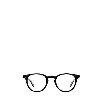 Garrett Leight CLEMENT black unisex eyeglasses