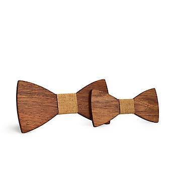 Wooden Bow Tie, Necktie Kids