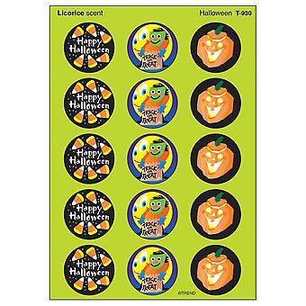Halloween/Licorice Stinky Stickers, 60 Ct.