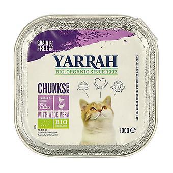 Bio chicken and duck cat food 100 g