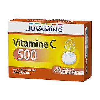 Vitamin C 500 30 effervescent tablets