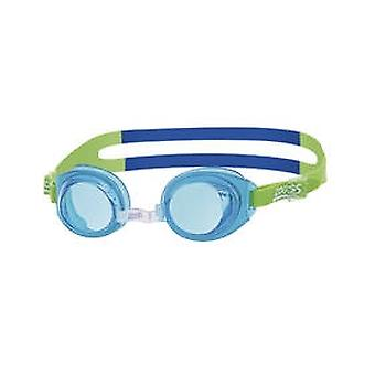 Zoggs Little Ripper Swim Goggle 0-6yrs- Tinted Lens - Blue Frame