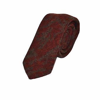 &Cravatta motivo ambra scura araba Set quadrato tascabile