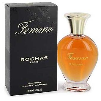 Femme Rochas By Rochas Eau De Toilette Spray 3.4 Oz (women) V728-413247