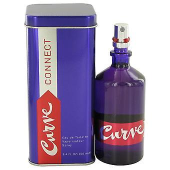 Kromme verbinding Eau De Toilette Spray door Liz Claiborne 3.4 oz Eau De Toilette Spray