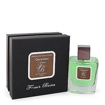 Franck Boclet Geranium Eau De Parfum Spray (Unisex) By Franck Boclet 3.4 oz Eau De Parfum Spray