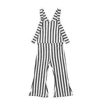 Kisgyermek Baby Stripe Bell-bottom Pants / nadrág / romper