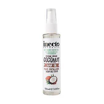 Moisturizing coconut oil for hair 100 ml of oil