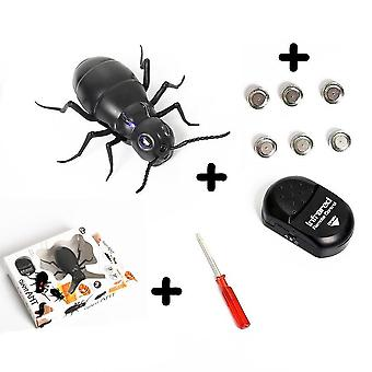 Infrared Remote Control Giant Cockroach, Ant- Electric Toy For Adult- Prank