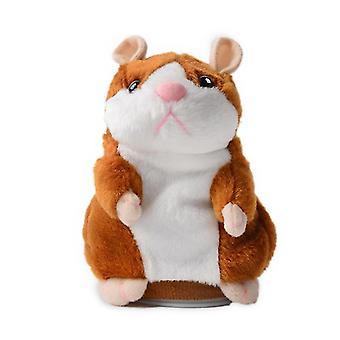 inteligente andando, acenando, falando brinquedo de hamster elétrico