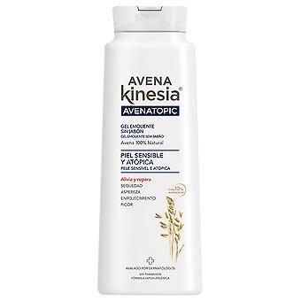 Avena Kinesia Verzachtende gel zonder zeep Havermout Topic 600 ml