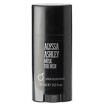 Alyssa Ashley Musk miehille Deodorant Stick 75 ml