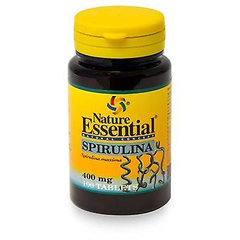 Nature Essential Spirulina 400 Mg, 100 Tablets