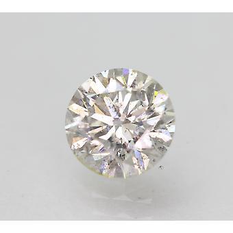Sertifioitu 1,04 karat H SI1 pyöreä brilliant parannettu luonnollinen löysä timantti 6,46mm