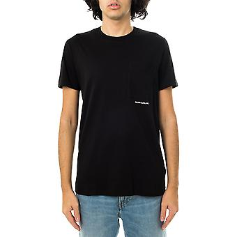 Calvin Klein micro branding poche tee-shirt homme j30j317275.beh