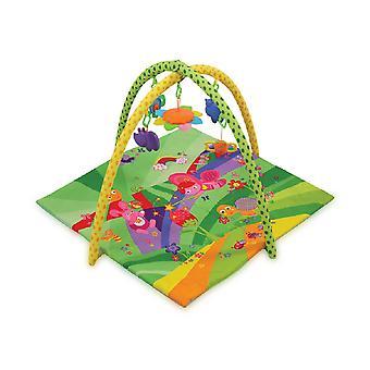 Lorelli Game Bow Fairy Tales Crawling Blanket Rattle Mirror Gripande från födseln