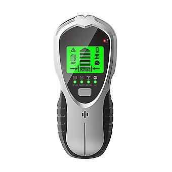 Ferramenta profissional de detector de parede portátil de exibição digital 4 em 1 fio de madeira de luz de fundo multifuncional medindo metal scanner de garanhão