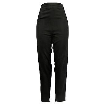 Cuddl Duds Leggings Plus Fleecewear Stretch Pull On Black A369295