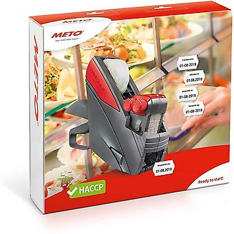 HanFei HACCP Kit, Profi Handauszeichner Lebensmittel/Lebensmittel 30004658 (2-zeilig, 20-stellig fr 26 x 16
