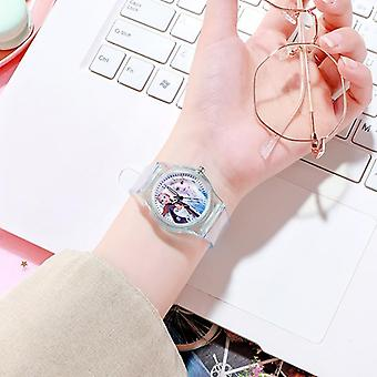 Children's Luminous Watch, Student Silicone Colorful Lights,, Kids