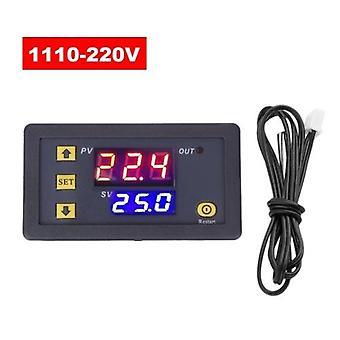 3230 Temperaturregler Digital Display Thermostat Modul Temperaturregelung Sendeschalter Mikroheizung Kühlung Temperatur-Bedienfeld