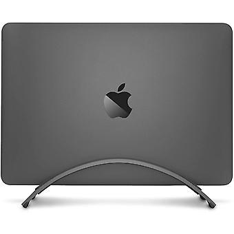 FengChun BookArc fr MacBook   Platzsparender vertikaler Laptopstnder fr Apple Notebooks (Grau)