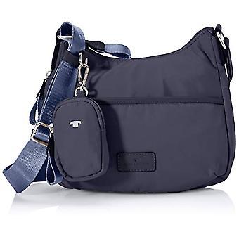 Tom Tailor Beatrice, Women's Hobo Bag, Dark Blue, Large