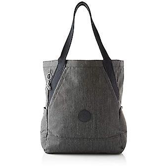 Kipling ALMATO, Unisex-Adult Tote Bag, Black Peppery, 15.5x30x37.5 cm