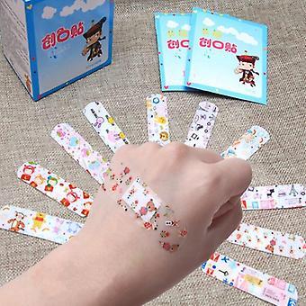 Cartoon Band Aid Hämostasis Klebebandagen Erste-Hilfe-Notfall-Kit