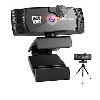 Webová kamera 4k Full Hd 1080p Webová kamera Mini Webová kamera Kryt