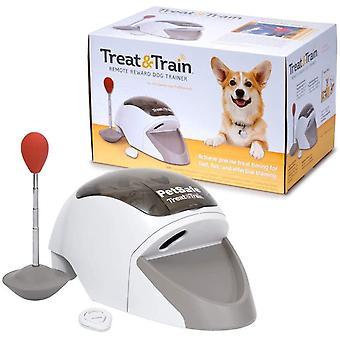Treat & Train Belohnungs Leckerli Hundetraining, Hundetrainer, Ferntrainer für Hunde, 30 Meter