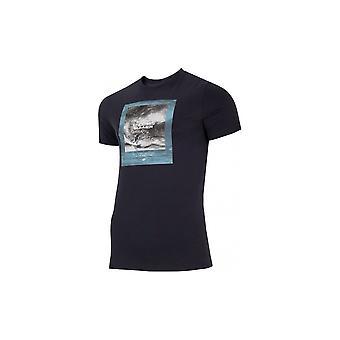 4F TSM028 H4L21TSM02830S universal hela året män t-shirt